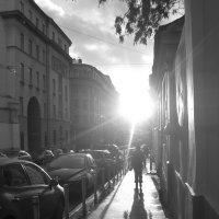 Солнце в городе :: Ольга Якимова