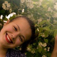 Лето в жасмине :: Анна Кравцова