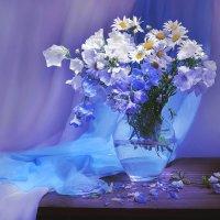 В  голубом сиянии луны... :: Валентина Колова