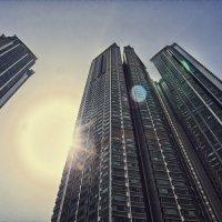 Гонгконг, жилые дома. :: Евгений Подложнюк