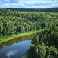 река Чусовая :: Евгений Литвинов