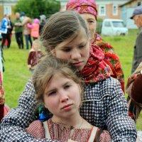 Русский Север. Село Нёнокса. Холодно :: Владимир Шибинский