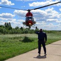 Как провожают вертолёты :: Павел Галактионов