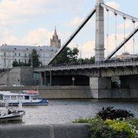 фрагмент Крымского моста :: Олег Лукьянов