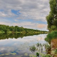 Вниз  по  течению... :: Валера39 Василевский.