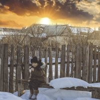 Зимними вечерами :: Анжелика