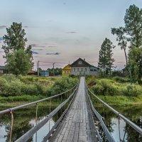 Мост через реку Мста :: Вячеслав Касаткин
