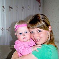 Мамочка и дочка :: Марта Новик
