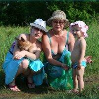 трое в поле не считая собаки. :: Anatol Livtsov