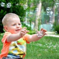 Мыльные пузырики :: Яна Шер