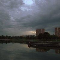 Вечер у пруда :: Александра