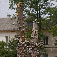 Кладбище мягких игрушек :: Дмитрий Лебедихин