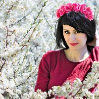 весной в саду..... :: Елена Лабанова