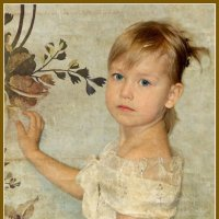 Девочка с картины :: Ольга (Кошкотень) Медведева