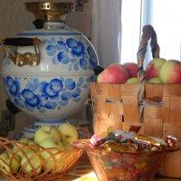 Далекое детство ... чай из бабушкиного самовара :: Галина Дербина