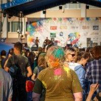 Фестиваль красок в Йошкар-Оле :: Андрей Гриничев