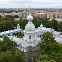 Вид со звонницы Смольного собора :: Наталья Левина