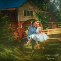 Двое в парке :: Anastasiya Ageeva