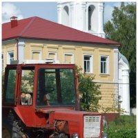 кот тракторист. :: владимир ковалев
