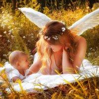 Ангелочек Матвей с мамой Софьей :: Владилена Осипова