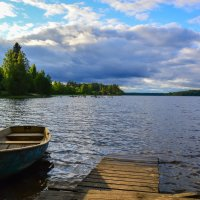 вид на озеро :: Ольга Имайкина
