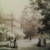 Ретро открытка. Летний сад в Петербурге. :: Светлана Калмыкова