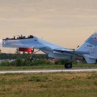 Посадка Су-30СМ :: Павел Myth Буканов
