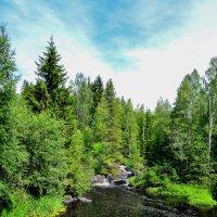 Водопад Ахвенкоски :: Ольга Имайкина