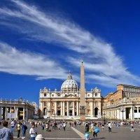 Площадь и Собор Святого Петра в Ватикане :: Денис Кораблёв
