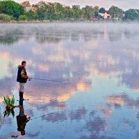 утренняя рыбалка :: юрий иванов