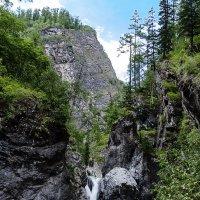 Водопад на Кынгарге :: Анатолий Иргл