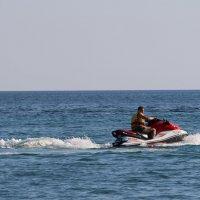 Море, небо, гидроцикл. :: Николай Шаврыгин