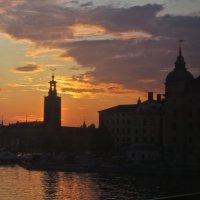 закат над Стокгольмом :: Елена