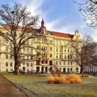 Площадь Кинских в Праге :: Денис Кораблёв