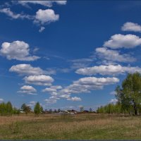 Клин облаков. :: Александр Максименко