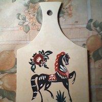 Лошадка в технике городец! :: Светлана Калмыкова