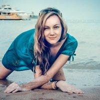 девушка у моря :: Vorona.L