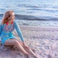 На  берегу  Таганрогского залива... на закате... :: Райская птица Бородина