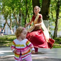 Прелестные танцовщицы :: Елена Третьякова