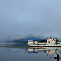 Утро на Телецком озере. :: Алексей Тырышкин