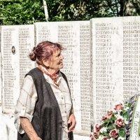 На мемориале в поисках отца :: photochess