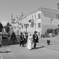 Марк Шагал с Беллой по Витебску ходили. :: Роланд Дубровский