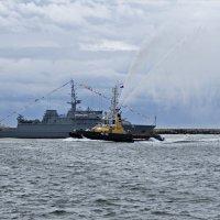 Парад,день ВМФ. Балтийск. :: Валерия Комова