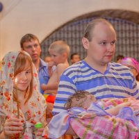 На Крестинах июнь 2015 :: Таня Харитонова