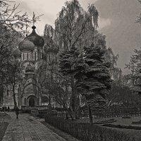 В Новодевичьевом монастыре :: Сергей Фомичев