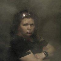 Портрет девушка с часами :: Shmual Hava Retro