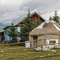 Twenty-first century. Mountain home in Kyrgyzstan :: Дмитрий Карышев