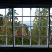 Hvitträsk, вид из окна второго этажа на Белое озеро :: Елена Павлова (Смолова)