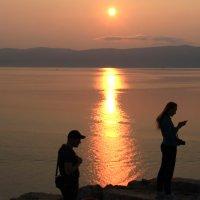 Малое море, закат :: Татьяна Нижаде
