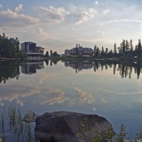 Evening Lake again :: Roman Ilnytskyi
